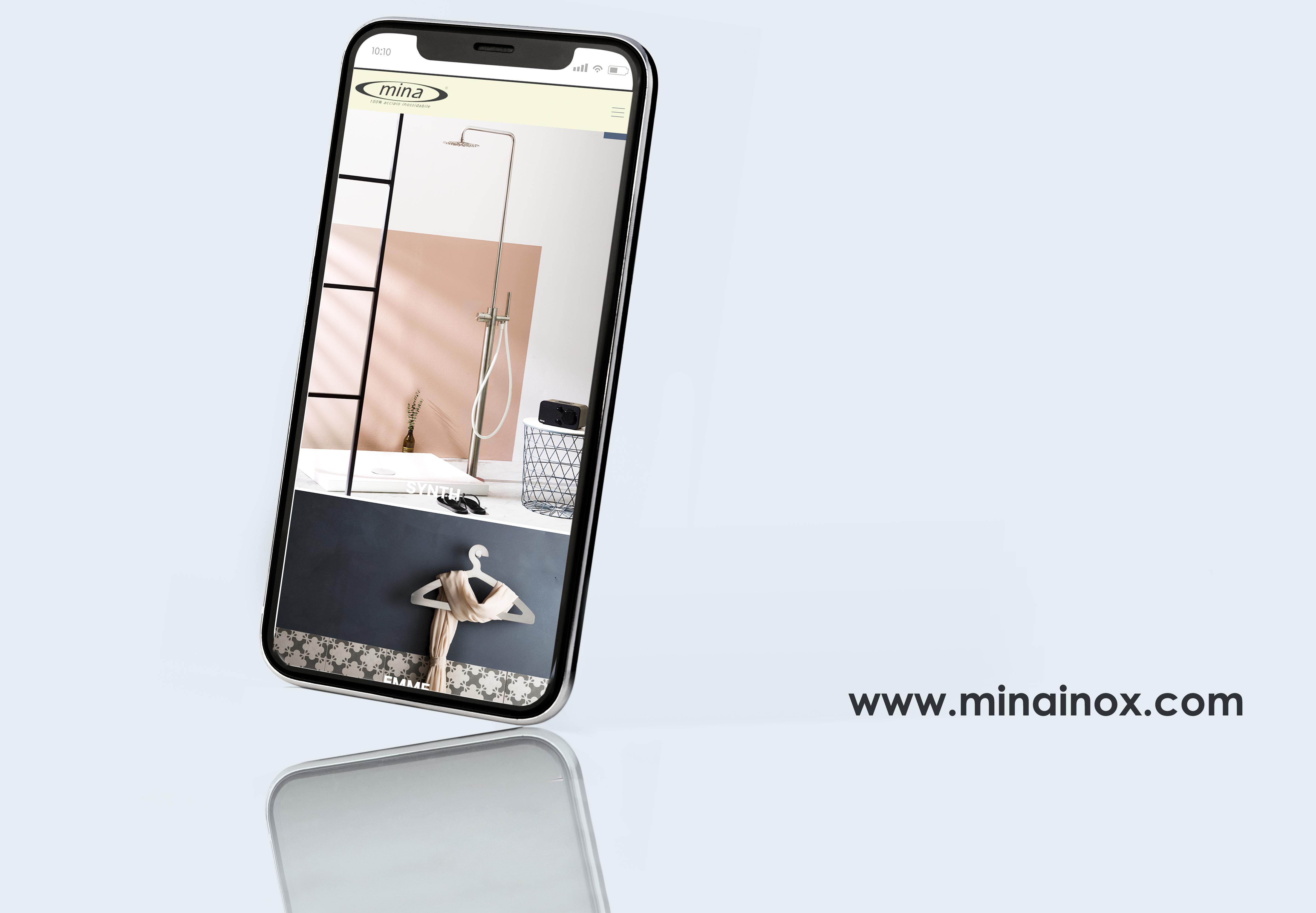 Mina Inox sito web