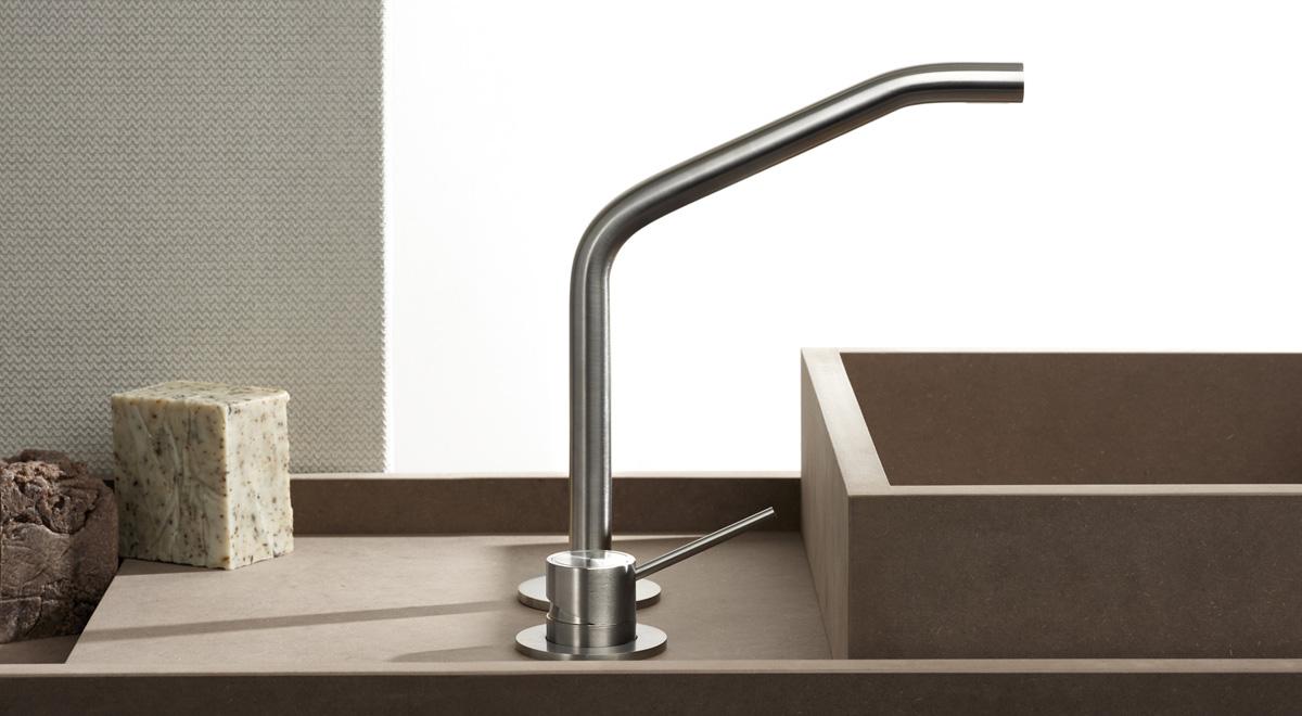 Mina - rubinetti acciaio inox - miscelatori bagno inox - miscelatori ...